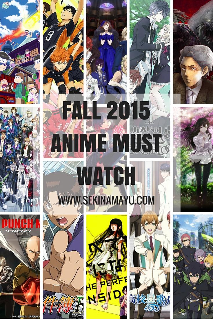 fall 2015 anime must watch